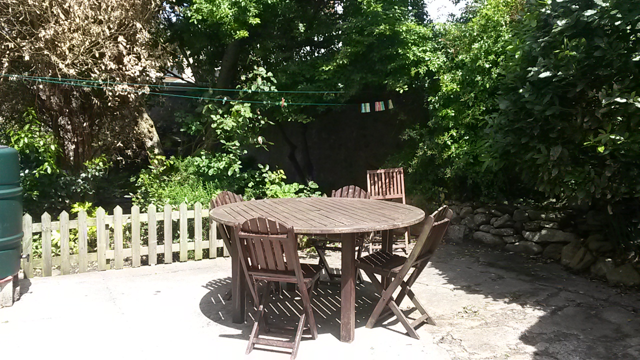 Patio Area accessed from the Kitchen or Side gate