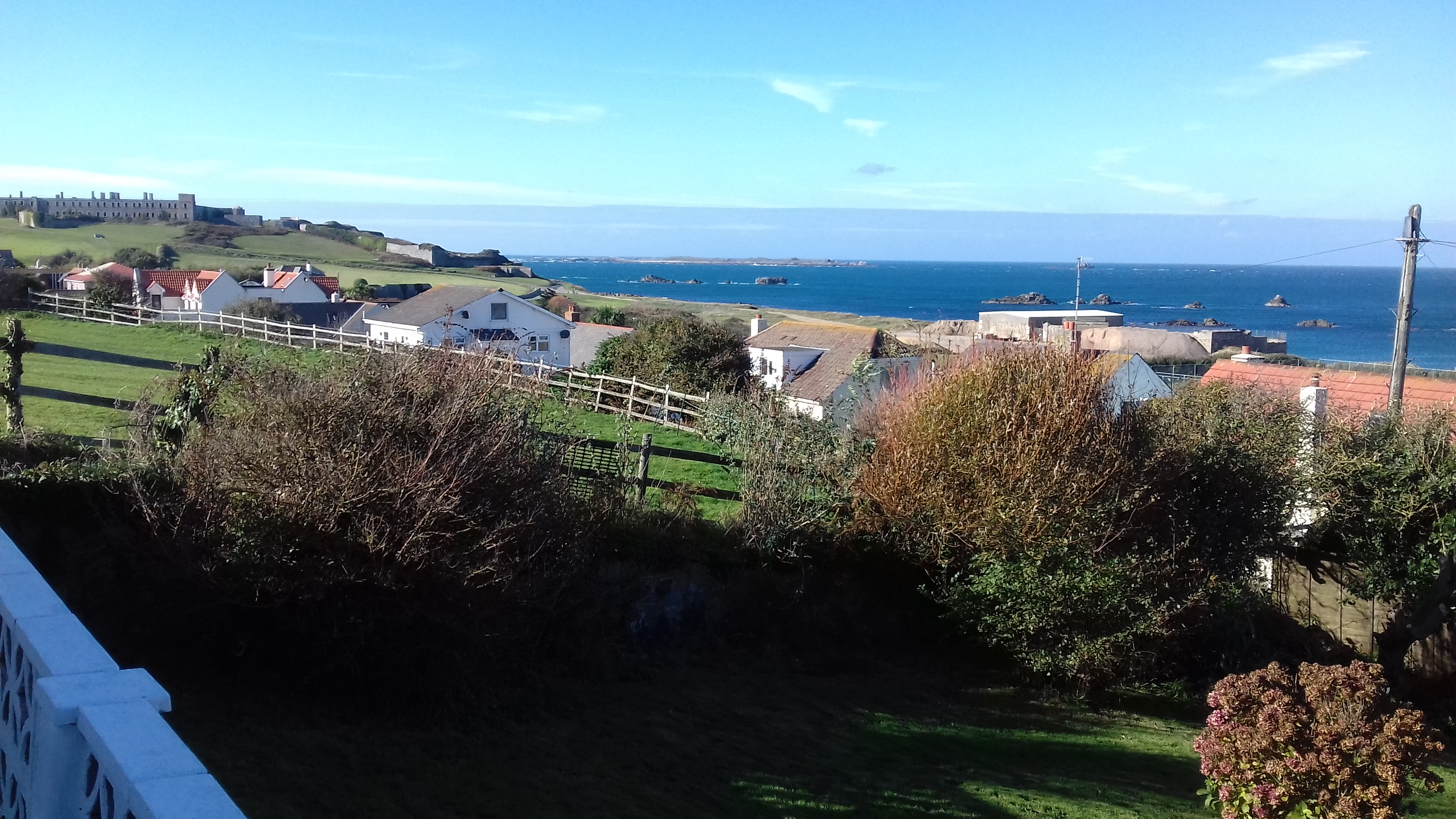 Sea Views across to Burhou